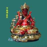 藏佛五路神像 传统工艺 树脂材质 河南佛道家