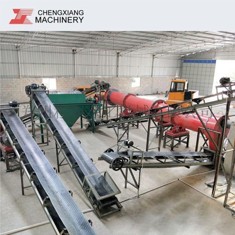 年產2000-5000噸有機肥設備場地 投資