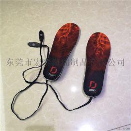 智能发热鞋垫电加热电暖鞋垫 EVA植绒鞋垫