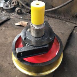 零售起重机车轮组平轮单轮缘车轮组双轮缘车轮组规格全