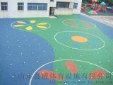 山东威海EPDM塑胶 幼儿园游乐场epdm彩色塑胶