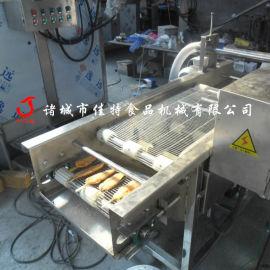 机械化裹浆的锅包肉上浆机, 广东网带式淋浆机