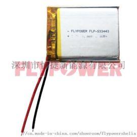3.7V 800mAh锂离子聚合物电池组