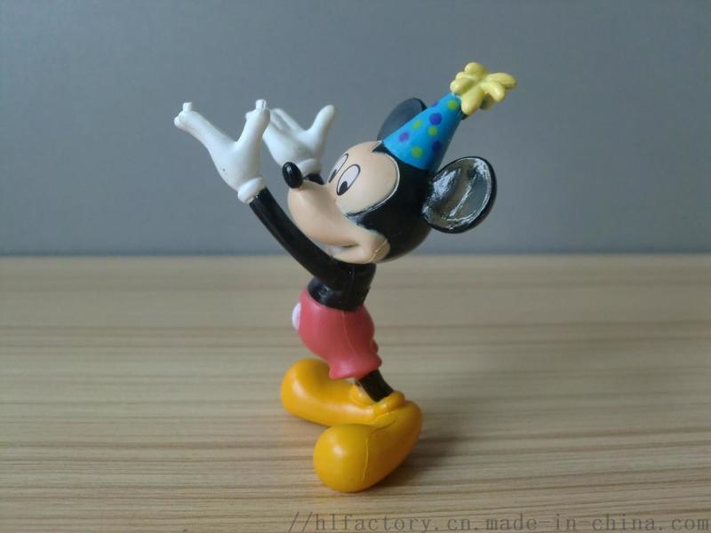 厂家定制米老鼠摆件玩具pvc注塑公仔