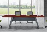 2406款2.4米油漆会议桌 胡桃木皮绿色环保家具