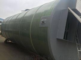 玻璃钢一体化污水提升泵站采用提栏格栅