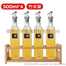 玻璃油壶500ml带油嘴