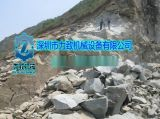 石英石矿洞采取代爆破掘进设备