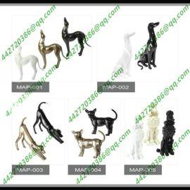 玻璃钢模特服装品牌橱窗展示狗系列好运旺旺年