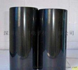 厂家直销防静电聚酰亚胺耐高温胶带大量批发黑色聚酰亚胺绝缘胶带