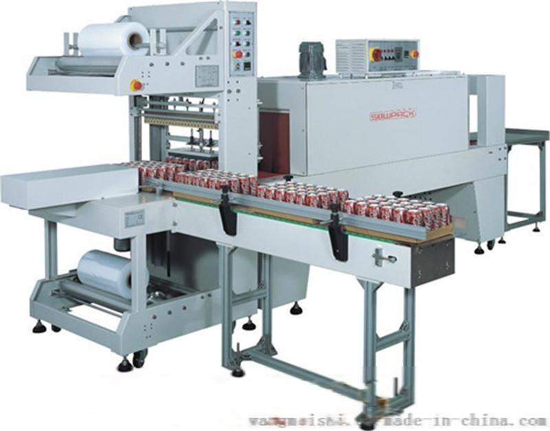 华创 矿泉水膜包机-细节图 热收缩包装机原理结构