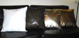 皮革靠垫(4)
