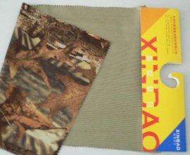 丛林迷彩布+PTFE+30D网纱布