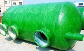 沉沙井化粪池 玻璃钢污水处理罐 安全环保消防池