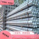 鍍鋅鋼管熱鍍鋅方矩管消防鍍鋅鋼管
