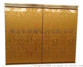 定制櫥櫃門板晶鋼門板全鋁門板