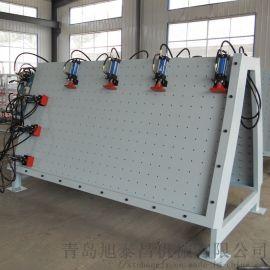 液压门窗组框机 实木门组合机 双工位门窗组装机