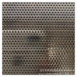 厂家直销1孔1距镀锌板圆孔过滤冲孔板电子机械网孔板