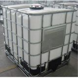 塑料耐硫酸碱桶,1吨塑料化工桶 ,塑料白色铁栏桶