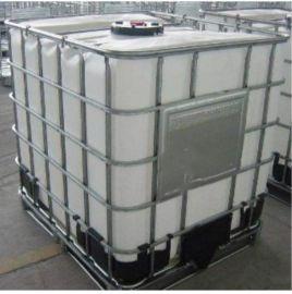 塑料耐**碱桶,1吨塑料化工桶 ,塑料白色铁栏桶