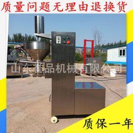 潮汕牛肉丸子成型不锈钢丸子机 肉丸成型流水线 全自动肉丸机商用