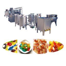 厂家直销全自动凝胶软糖生产线 多功能全自动糖果平安专业彩票网设备 糖果机