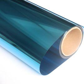 销售居家窗户玻璃膜海 蓝色办公室玻璃防晒膜防稳私