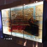 工厂直销46寸55寸65寸液晶透明屏拼接屏触摸透明屏橱窗触摸广告机