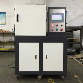 东莞卓胜(厂家直销)ZS-406C PLC双层控制抽真空压片机 电动加硫成型机 热压成型机 平板硫化机