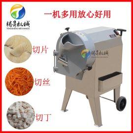 多功能自动土豆切丝机 土豆切块机 木薯土豆切片机