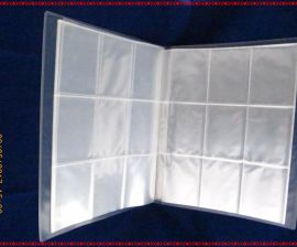 工厂生产PP分格袋 9格名片袋  PP相册内页袋