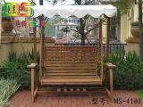 户外家具之实木秋千椅