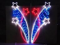 2014年挂路灯杆装饰灯 挂路灯杆各谐之星灯 销路  的LED装饰灯