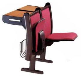 河北省廊坊霸州胜芳镇后背带抽拉式折叠桌面中间回弹软包排椅
