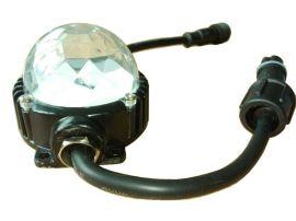 DMX512 点光源 红绿蓝全彩色 3合1RGB大功率LED灯
