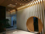 鞍山木纹铝方通 200x80方铝管 铝方通墙身造型