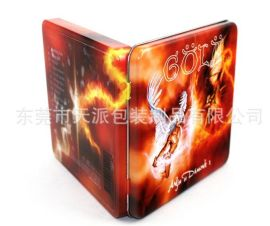 CD鐵盒,光碟包裝鐵盒,珍藏版碟片包裝鐵盒