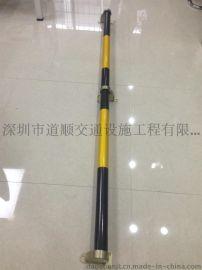 深圳停车场厂家车位挡轮杆