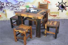 重庆**老渔夫船木茶台客厅家具价格实惠