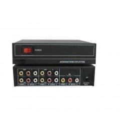 大雅新科技(DYLINK)4路视音频分配器 SP440AE