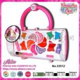 Akianme 33512 17*16.5*7cm 儿童椭圆形化妆手提盒
