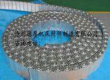 电厂设备专用钢铝拖链 不锈钢拖链