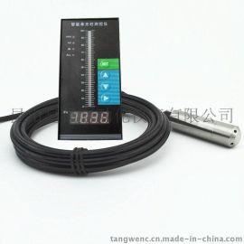 皇昌牌KSHC-t505投入式静压液位变送器 分体型投入式水位变送器 深井水位深度测控仪表 量程0-50米可选