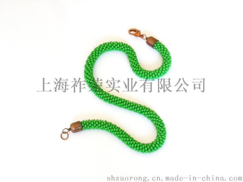 厂家直销串珠项链 手钩米珠项链 米珠编织项链 珠珠项圈