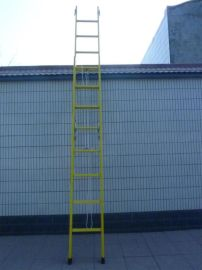 JAD-6米玻璃钢绝缘伸缩人字梯生产厂家