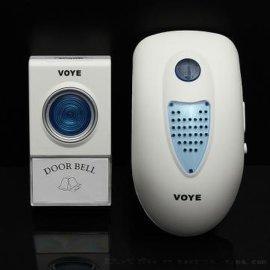 厂家直销 低价供应 无线门铃 VOYE 爱腾V003A 美规英规插电门铃