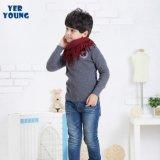 秋冬款针织套頭衫YER YOUNG品牌外贸儿童羊毛衫男中童高领毛衣