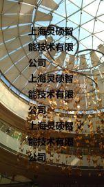 商场中庭专用电动吊钩、吊挂吊饰、升降设备