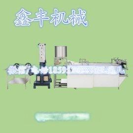 鑫丰供应东北干豆腐机全自动豆腐皮机 干豆腐设备多少钱