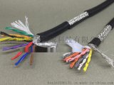50芯0.12平方TRVSP25*2*0.12高柔性双绞屏蔽拖链电缆